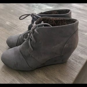 Maurice's Wedge booties